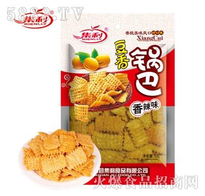 集利豆香锅巴70克
