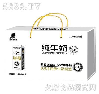北大荒集团纯牛奶250mlx12盒礼盒