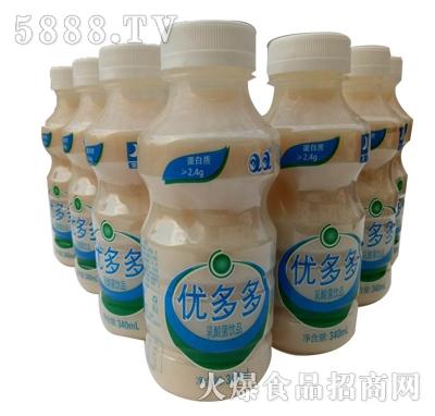 优多多原味乳酸菌饮品340ml