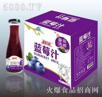 宜泉蓝莓汁1.5LX6