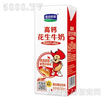 君态牧场高钙花生牛奶复合蛋白饮料250ml