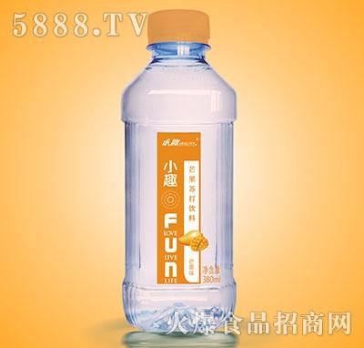 小趣芒果苏打饮料380ml