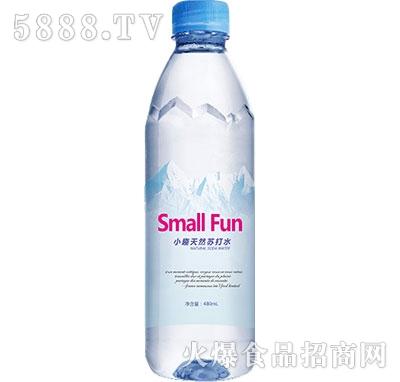 小趣天然苏打水480ml