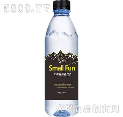 小趣天然苏打水瓶装480ml