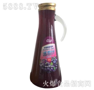 膳鑫园蓝莓汁果汁饮料1.5L