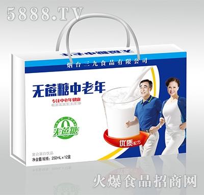 无蔗糖中老年复合蛋白饮料250mlx12盒