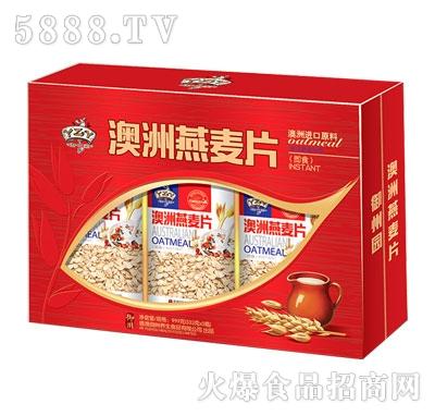 澳洲即食燕麦片333gx3瓶