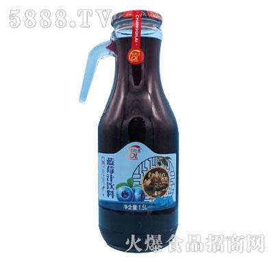 蓝莓汁饮料1.5升