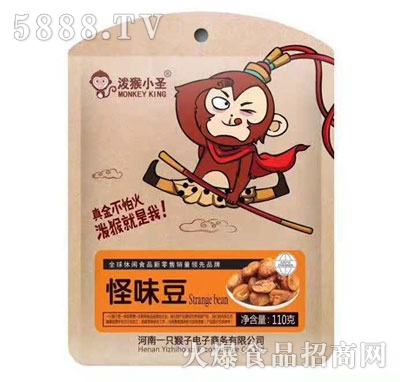 泼猴小圣怪味豆110g