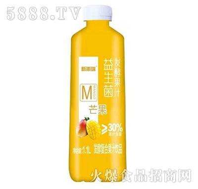 新雨瑞益生菌发酵复合芒果汁1.1L