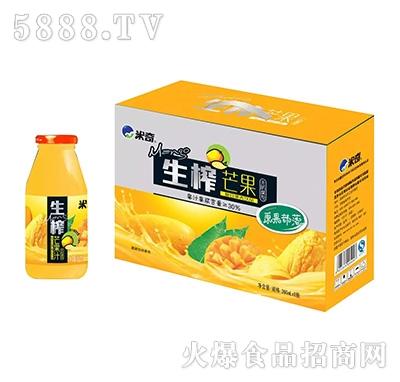 生榨芒果复合果汁饮品260ml×8瓶