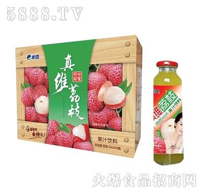 荔枝果汁饮料306ml×8瓶