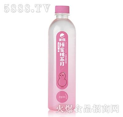蜜桃苏打果味饮料500ml×15瓶