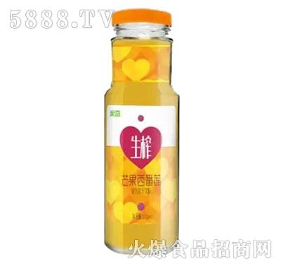 生榨芒果西蕃莲复合果汁饮料310ml