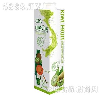 米奇印象C域猕猴桃复合果汁饮料1L×8盒
