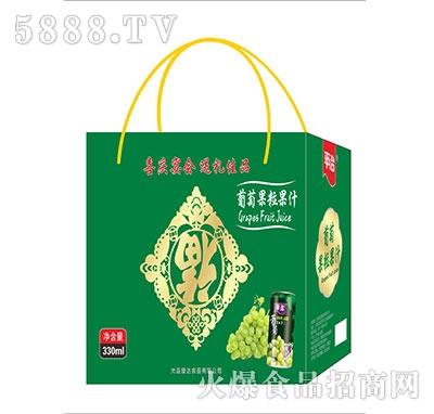 平冶葡萄果粒果汁礼盒