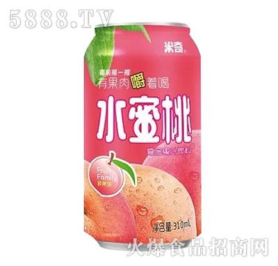 米奇水蜜桃复合果汁饮料 310ml
