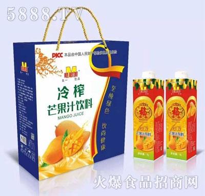 格格美冷榨芒果汁饮料(袋)