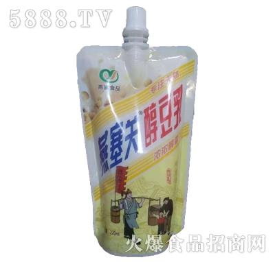 燕塞关醇豆乳饮品自立袋