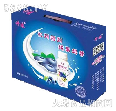 升迪纯果奶昔酸奶饮品礼盒装