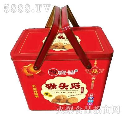 麦恰猴头菇酥性饼干(盒装)