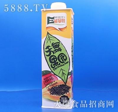 能量娃天舞果园芒果+木瓜果汁1000ml