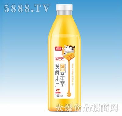 蓝翔芒果益生菌发酵果汁1115ml