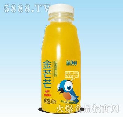蓝翔芒果益生菌发酵果汁350ml