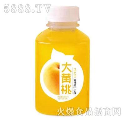 果然高大黄桃复合果汁饮料