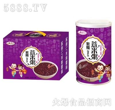 五香汇紫薯薏米粥320g