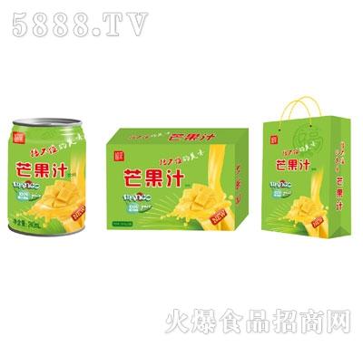 膳鑫园芒果汁饮料240毫升