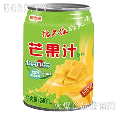 膳鑫园芒果汁饮料240ml