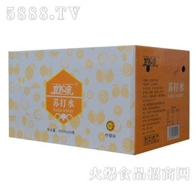 宜泉苏打水柠檬味400mlX24