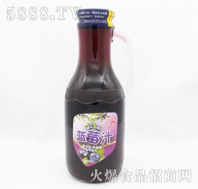 乡村伙伴蓝莓汁1.5L(瓶)