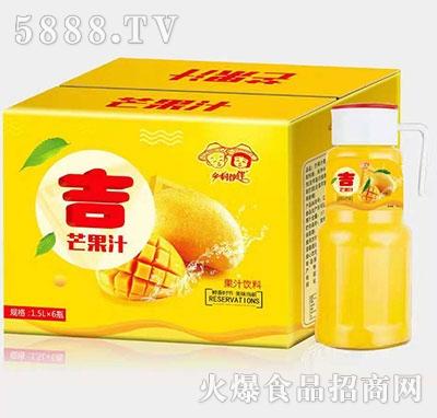 乡村伙伴吉芒果汁1.5Lx6瓶