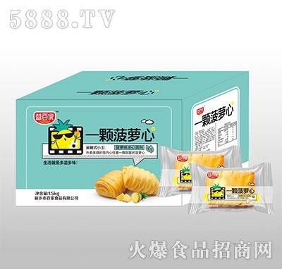 益百家一�w菠�}心菠�}味�A心面包1.5kg