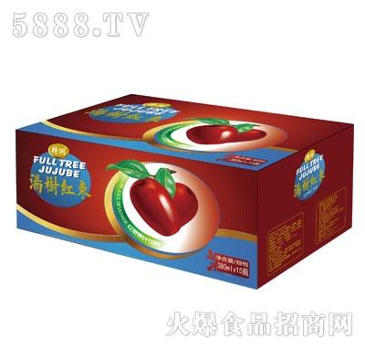 特润满树红枣红枣果汁饮料380mlX15