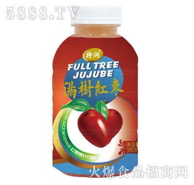 特润满树红枣果汁饮料380ml