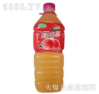 沃森蜜桃多果味饮料2L