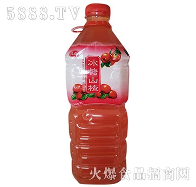 沃森冰糖山楂果味饮料2L