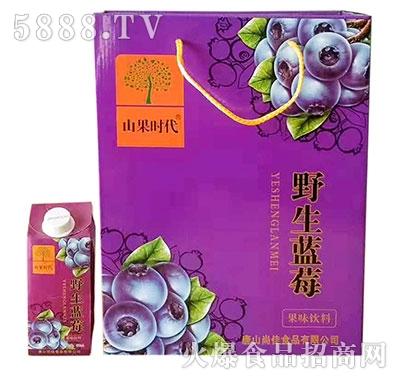 山果时代野生蓝莓果味饮料
