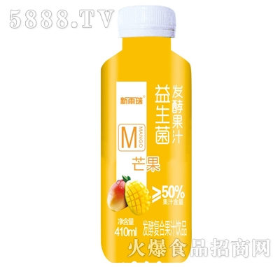 新雨瑞益生菌发酵芒果汁410ml