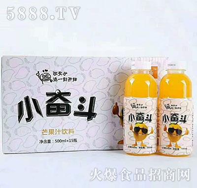 小奋斗芒果汁饮料500mlx15瓶
