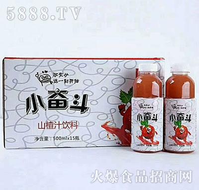 小奋斗山楂汁饮料500mlx15瓶