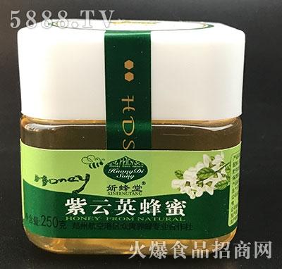 � 蜂堂紫云英蜂蜜250g