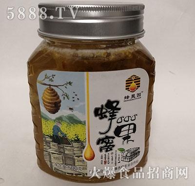 蜂昊园蜂巢蜜500g