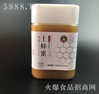 蜂昊园土蜂蜜500g