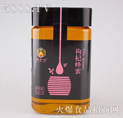 蜂护士枸杞蜂蜜1.0kg