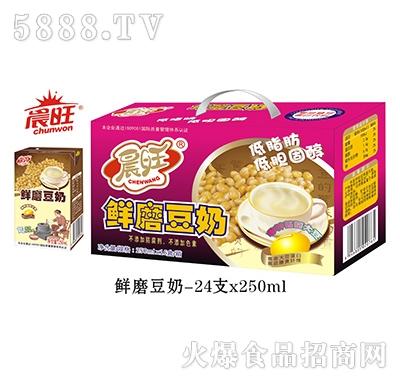 晨旺鲜蘑豆奶250mlx24瓶