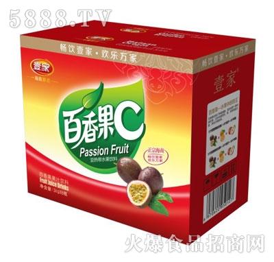 壹家百香果果汁饮料1kgX6